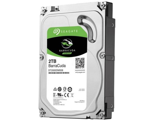 "HDD Seagate Barracuda 2TB-ST2000DM008-SATA3-3.5""-2Y"