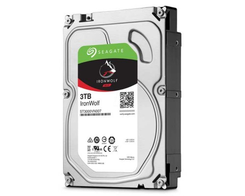 "HDD Seagate Ironwolf 3TB-ST3000VN007-SATA3-3.5""-NAS-3Y"