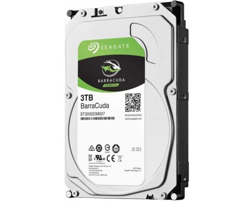 "HDD Seagate Barracuda 3TB-ST3000DM007-SATA3-3.5""-2Y"