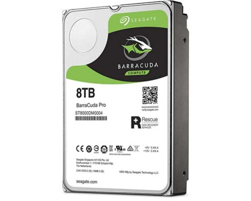 "HDD Seagate Barracuda 8TB-ST8000DM004-SATA3-3.5""-2Y"