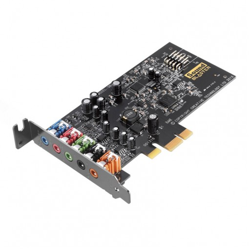 Sound Card Creative Sound Blaster Audigy FX 5.1with SBX PRO Studio BULK