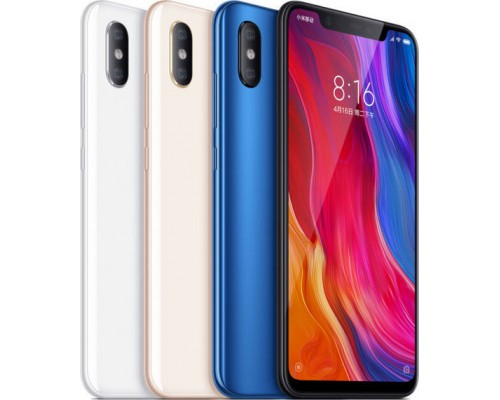 Smartphone Xiaomi Mi 8 6GB/128GB-Dual-SIM-Global-Version