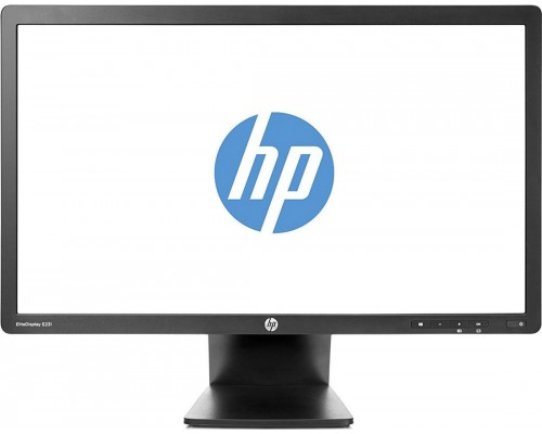"Refurbished Monitor HP E231 Elite Display 23"" TN-LED-1920x1080@60Hz-250cd-DSUB-DVI-DP-1Y"